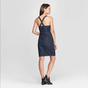 Universal Thread Dresses - Universal Thread Sleeveless Apron Denim Dress